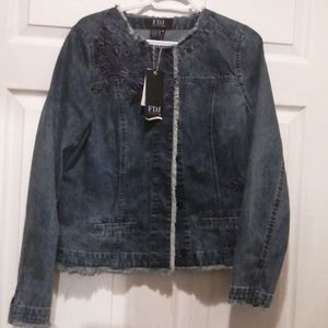 Jeans jackets new on tags